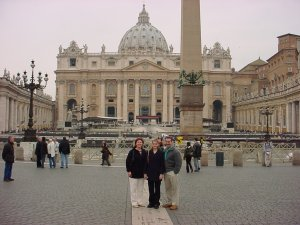 The Vatican (Reserved Entrance) - Michelangelo, Raphael and Bernini